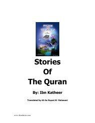Stories Of The Prophets Ibn Kathir Pdf