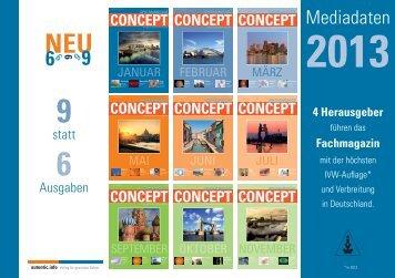 mediadaten concept 2013.indd - autentic.info GmbH