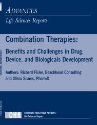 Combination Therapies: - Insight Pharma Reports