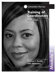 TOC Training Guide Module 7 - SDRG Home