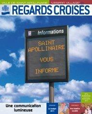 Une communication lumineuse - Ville de Saint-Apollinaire