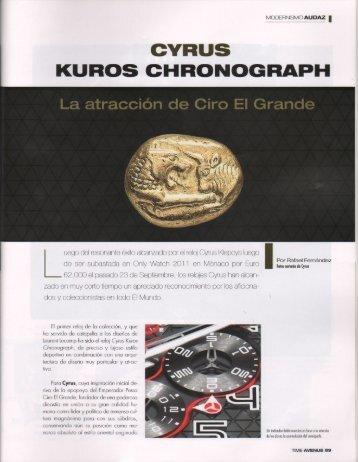 CYRUS KUROS CHRONOGRAPH