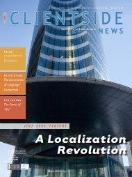 A Localization Revolution