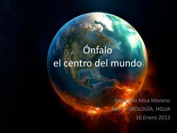 Ónfalo el centro del mundo