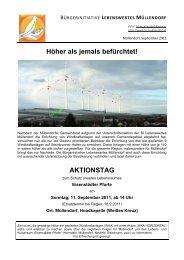 Informationsblatt Nr. 5 - Lebenswertes Müllendorf