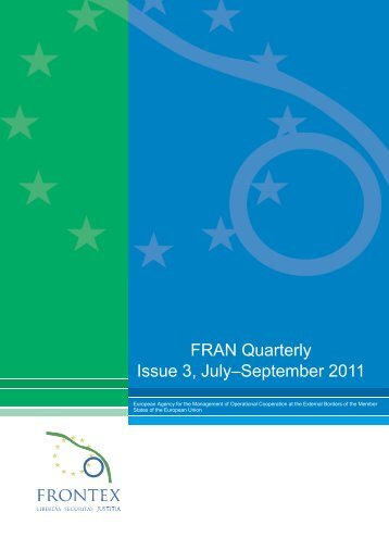 FRAN Quarterly - Frontex - Europa