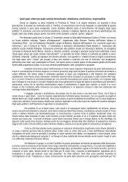 Resoconto della giornata - Fondazione | Alexander Langer | Stiftung