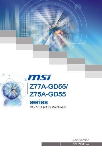 Z77A-GD55 - Xpress Platforms
