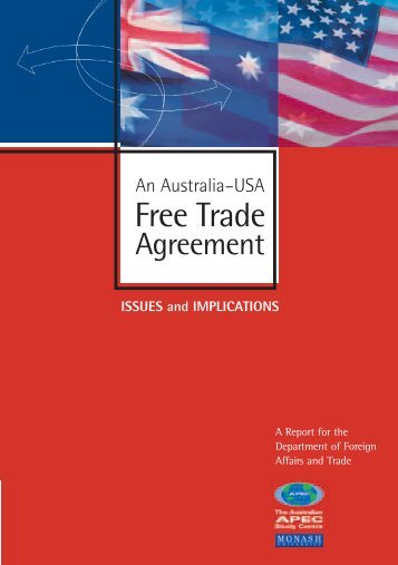 An Australia–USA Free Trade Agreement: Issues and ... - SICE