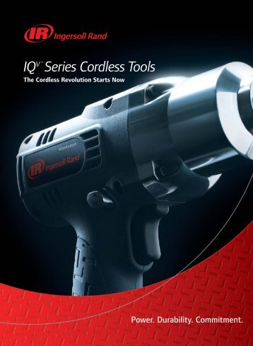 More IQV™ Series Cordless Tools - NY Tech Supply
