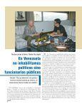 • CGR no inhabilita políticos sino funcionarios públicos • Venezuela ... - Page 6