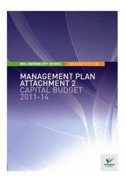 Capital Budget 2011-12 - Wollongong City Council