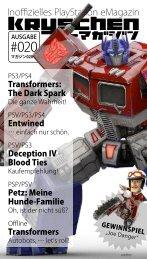 Inoffizielles PlayStation eMagazin KRYSCHEN #020