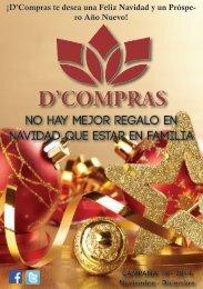 Catálogo D'Compras Noviembre Diciembre 2014. Llegó la Navidad!