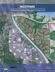 Final Environmental Impact Statement - City of Bremerton