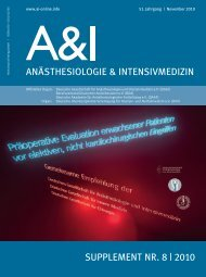 Empfehlung: Präoperative Evaluation erwachsener Patienten ... - DGAI