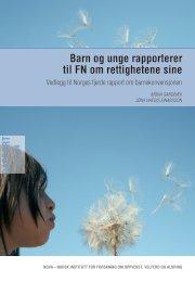 Barn og unge rapporterer til fN om rettighetene sine - Nova