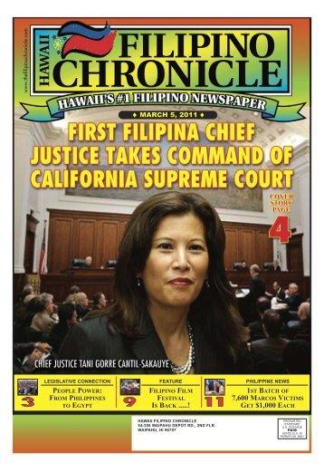 03/05/2011 - Hawaii-Filipino Chronicle