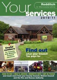 Your Services A to Z 2010 - Redditch Borough Council ...