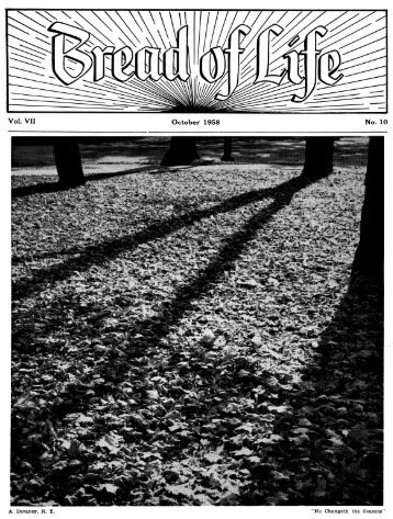 PDF for printing - Bread of Life - Archives of the Ridgewood ...