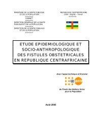 resultats des fistules obstetricales - Campaign to End Fistula