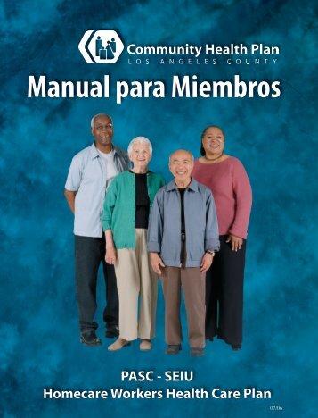 Manual para Miembros Memb e - Los Angeles County Department ...