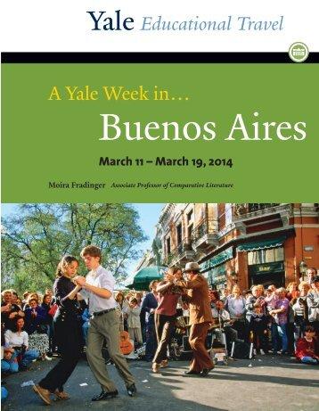 A Yale Week in… - Yale University