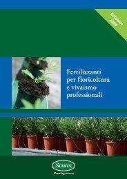 Fertilizzanti per floricoltura e vivaismo professionali - Clamer Informa