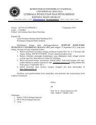Surat konfirmasi kesediaan pemakalah seminar hasil - Lembaga ...