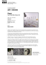 CATEGORY ART / DESIGN Paper - Black Dog Publishing