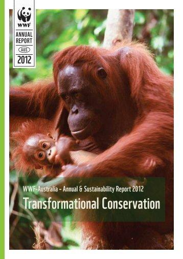 2012 annual report - wwf - Australia