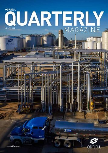 Quarterly Magazine July 2013 - Odfjell