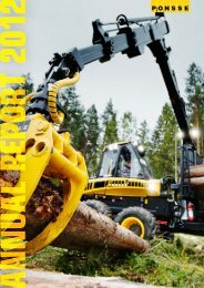 Annual Report 2012 ENG - Ponsse