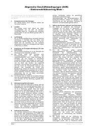 Allgemeine Geschäftsbedingungen (AGB ... - M Way