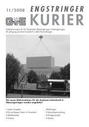 11/08 - Engstringer Kuriers