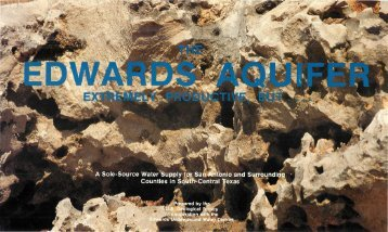 edwards underground water district - Edwards Aquifer Authority