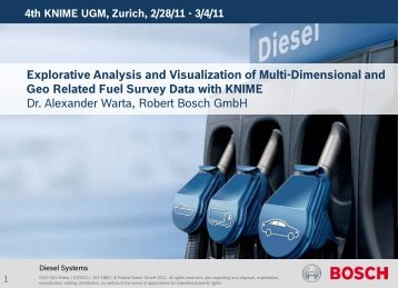 Explorative Analysis and Visualization of Multi-Dimensional ... - Knime