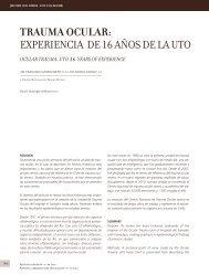 TRAUMA OCULAR - Clínica Las Condes