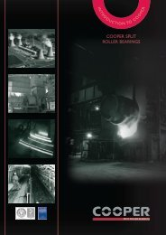 Introduction to Cooper - Cooper Split Roller ... - Cooper Bearings