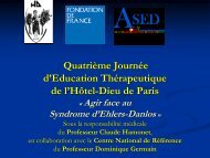 Diapositive 1 - Apprivoiser les Syndromes d'Ehlers-Danlos