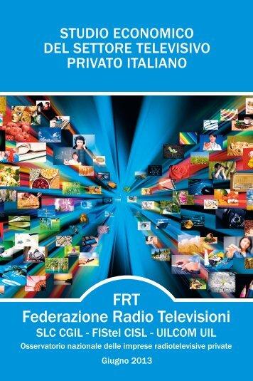 studio economico del settore televisivo privato italiano