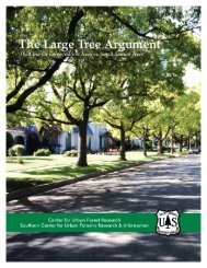 The Large Tree Argument - USDA Forest Service