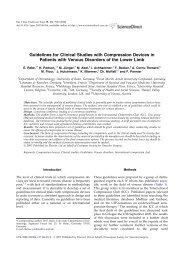 Guidelines for Clinical Studies with Compression Devices in ...