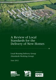 A Review of Local Standards for the Delivery of New ... - NHBC Home