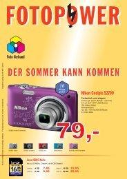 Flyer NEU - Foto & Reformhaus Fortkord