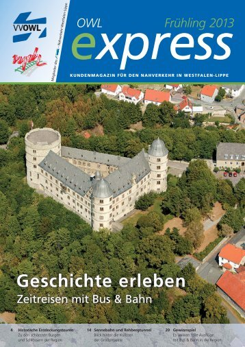OWL-Express Frühling 2013 - nph - Nahverkehrsverbund Paderborn ...