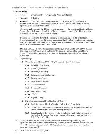 NERC - CIP (rev4) - SCADAhacker
