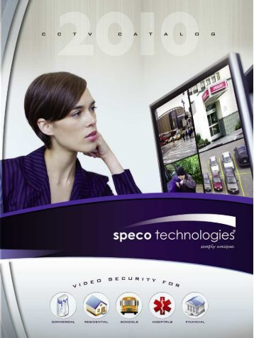 Speco Catalog 2010.pdf - PAM Distributing