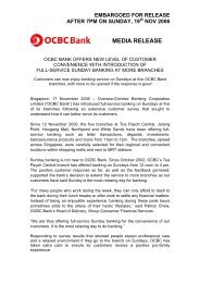 OCBC Bank offers new level of customer convenience with ...