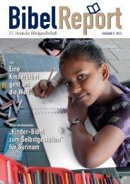 Kinder-Bibel zum Selbstgestalten - Deutsche Bibelgesellschaft